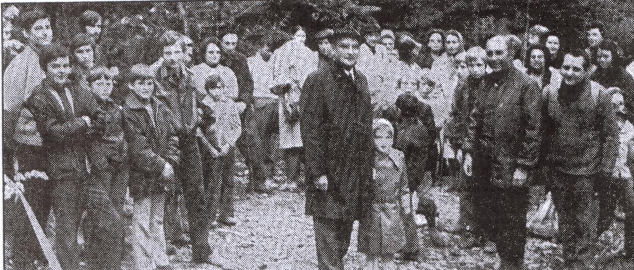 16 avril 1972, inauguration au carrefour de l'Eichwald